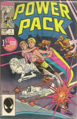 POWER PACK ISSUE 1 MARVEL COMICS