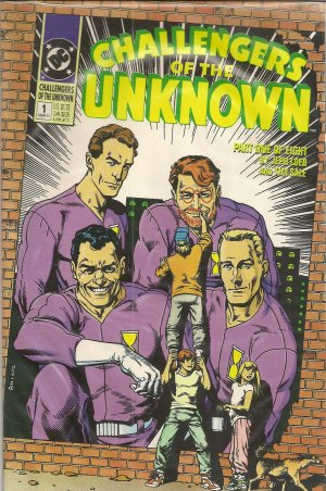 CHALLENGERS OF THE UNKNOWN PART 1 DC COMICS
