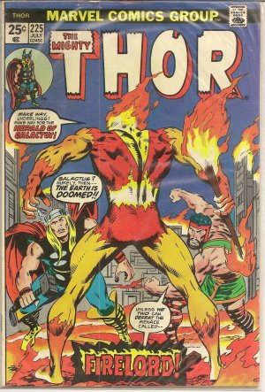 THE MIGHTY THOR ISSUE 225 FIRELORD MARVEL COMICS