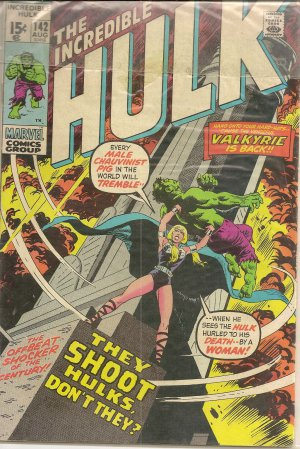 THE INCREDIBLE HULK ISSUE 142