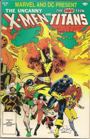 X-MEN AND THE NEW TEEN TITANS #1