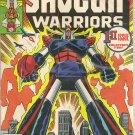 SHOGUN WARRIORS ISSUE 1 MARVEL COMICS