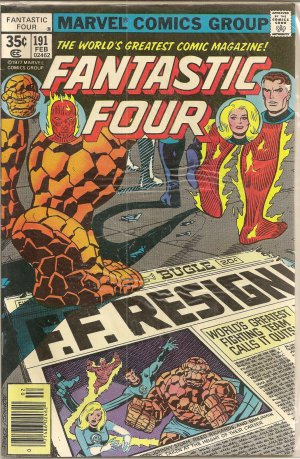 FANTASTIC FOUR ISSUE 191