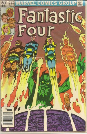 FANTASTIC FOUR ISSUE 232 MARVEL COMICS