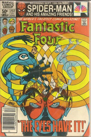 FANTASTIC FOUR ISSUE 237 MARVEL COMICS