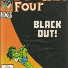 FANTASTIC FOUR ISSUE 293 MARVEL COMICS