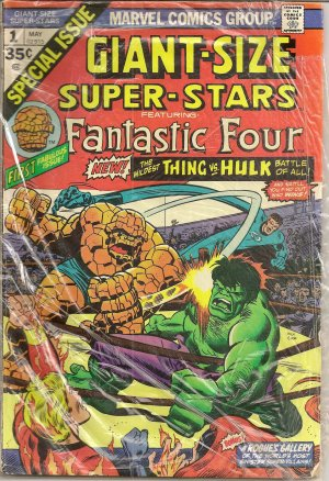 GIANT-SIZE SUPER-STARS FANTASTIC FOUR ISSUE 1
