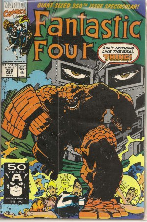 FANTASTIC FOUR ISSUE 350