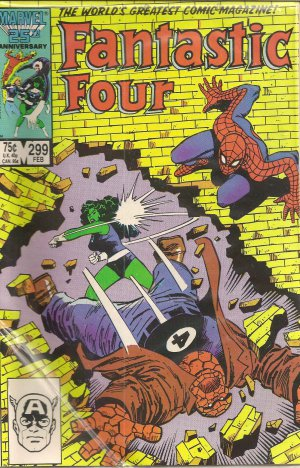 FANTASTIC FOUR ISSUE 299