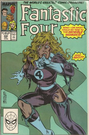 FANTASTIC FOUR ISSUE 332 MARVEL COMICS
