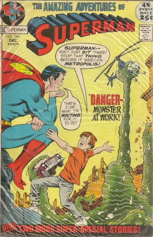 AMAZING ADVENTURE OF SUPERMAN ISSUE 246 DC