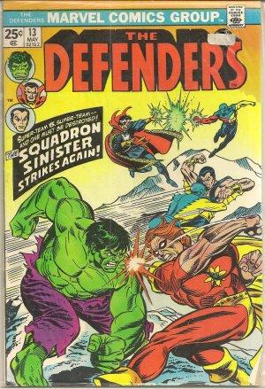DEFENDERS ISSUE 13 MARVEL COMICS