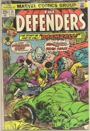 DEFENDERS ISSUE 19 MARVEL COMICS