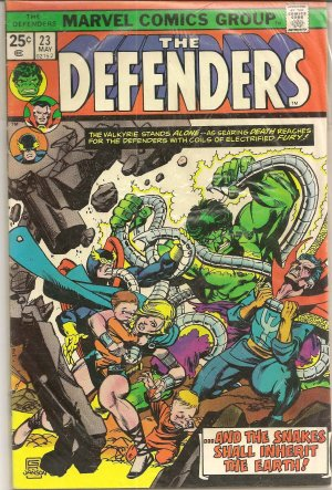 DEFENDERS ISSUE 23 MARVEL COMICS
