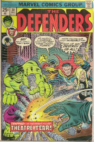 DEFENDERS ISSUE 30 MARVEL COMICS