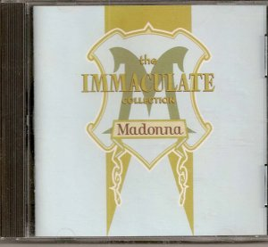 MADONNA THE IMMACULATE COLLECTION CD