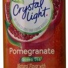 6 10-Quart Canisters Crystal Light Pomegranate Green Tea Drink Mix
