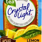10 10-Packet Boxes Crystal Light Lemon Iced Tea Natural Flavor On The Go Drink Mix