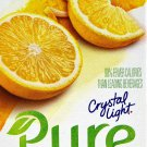 12 7-Packet Boxes Crystal Light Pure Lemonade On The Go Drink Mix