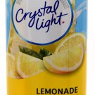 6 12-Quart Canisters Crystal Light Natural Lemonade Drink Mix