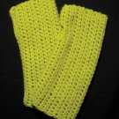Lime Green Wrist Warmers