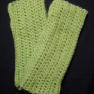 Light Green Wrist Warmers