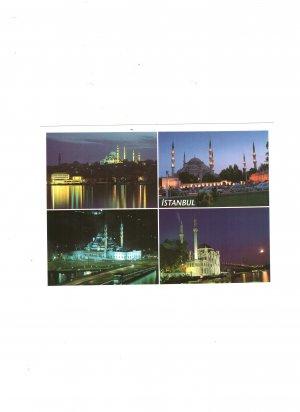 new postcard istanbul turkiye