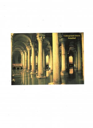 new postcard underground cistern istanbul