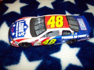 Nascar Collectible car Jimmy Johnson #48 (LOWES USO)