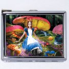 Alice in Wonderland Cigarettes Metal Case Lighter (B0076C)