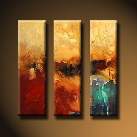 "Modern Abstract oil painting on Canvas ""Illusion""426"