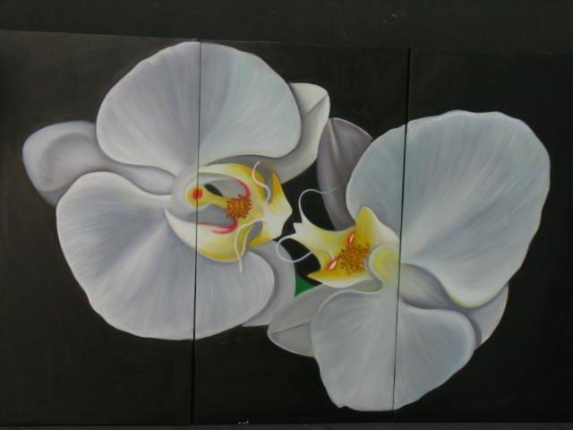 ORIGINAL Flower Oil painting PAINTING cherry blossom 005