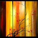 "Modern flower oil painting on Canvas ""tree"" 008"