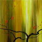 "Modern flower oil painting on Canvas ""tree"" 025"