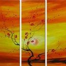 "Modern flower oil painting on Canvas ""tree"" 035"