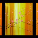 "Modern flower oil painting on Canvas ""tree"" 049"