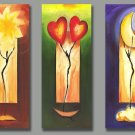 Modern Abstract oil paintings on Canvas Loving156