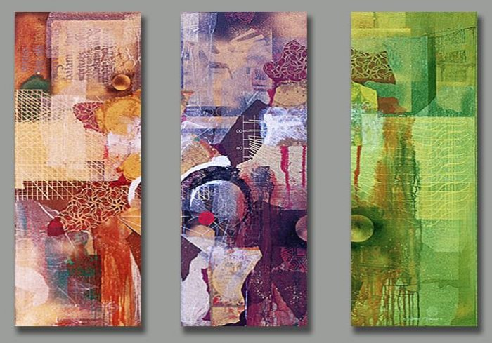 Modern Abstract oil paintings on Canvas abstract 162