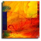Modern Abstract oil paintings on Canvas Illusion 206