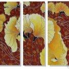 Modern flower oil paintings on Canvas flower painting 277