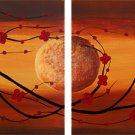 """Modern flower oil painting on Canvas """"Illusion 097"""""""