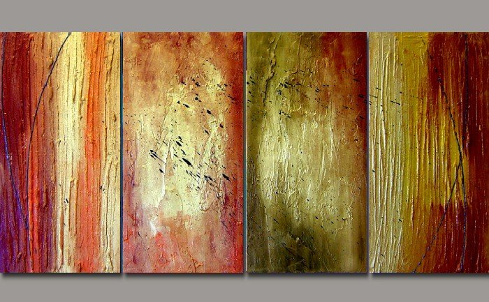 """Modern Abstract oil painting on Canvas """"Illusion 122"""""""