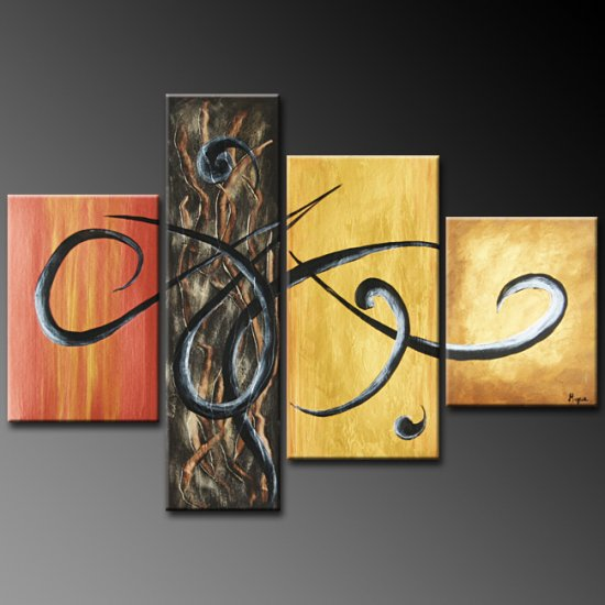 "Modern Abstract oil painting on Canvas ""Illusion 271"""