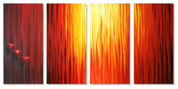 """Modern Abstract oil painting on Canvas """"Illusion 335"""""""