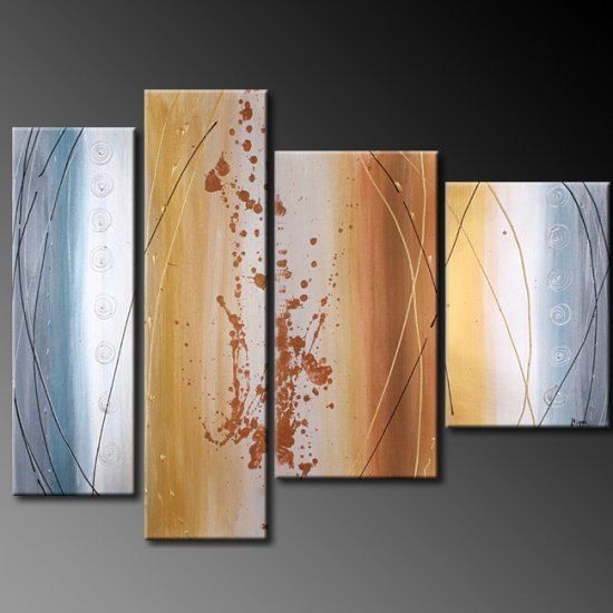 """Modern Abstract oil painting on Canvas """"Illusion 385"""""""