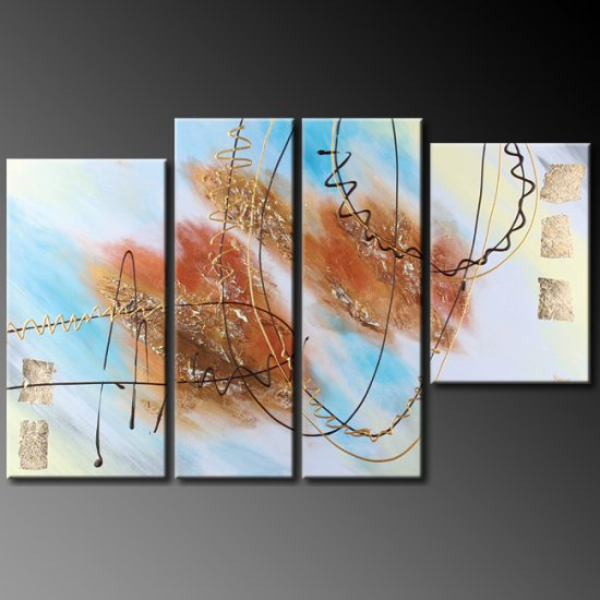 """Modern Abstract oil painting on Canvas """"Illusion 387"""""""