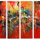 """Modern Abstract oil painting on Canvas """"Illusion 411"""""""