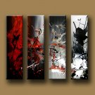 """Modern Abstract oil painting on Canvas """"Illusion 424"""""""
