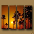 """Dafen Modern sunset glow oil painting on Canvas """"sunglow453"""""""