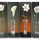 "Dafen Modern Abstract oil painting on Canvas ""flowers090"""